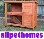 X-LARGE RABBIT HUTCH GUINEA PIG CAGE w 2 Pull out trays G104