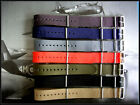19mm Grey NATO g10 Premium RAF watch strap band MoD Bonded IW SUISSE 18 20 22 24