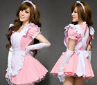 Sexy Halloween Costumes Pink Ruffle Lolita Mida Outfit Japan Cosplay Fancy Dress