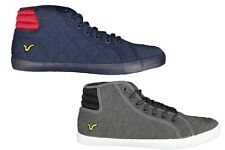 BRAND NEW MENS VOI JEANS CANTON HI TOP LACE UP STYLE FOOTWEAR - 2 COLOURS