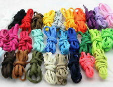 """1 Pair Round Oval 47"""" 125cm Shoe Sneakers Boot Laces Shoelaces Bootlaces USA"""