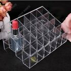 24grids Clear Acrylic Makeup Cosmetic Organizer Storage Lipstick Holder Case Box