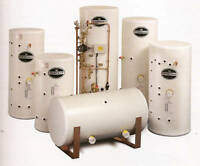 UNVENTED HOT WATER CYLINDER 200 Litre Indirect