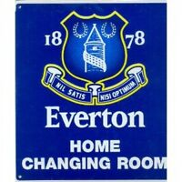 Everton Fc Football Home Changing Room Sign Official Board