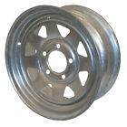 "13"" Sunraysia Wheel Rim Galvanised Ford Stud Pattern Trailer Caravan Boat New"