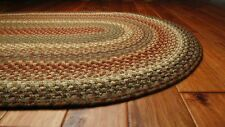 Homespice Bosky Cotton Braided Area Throw Rug Country Home Cottage Accent