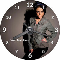 Cher Lloyd CD Clock - with FREE stand (personalised)