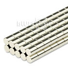 100pcs N50 Strong Round Cylinder Disc Rare Earth Neodymium Magnets 4mm x 5mm