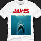 New Jaws Movie Poster T-shirts Made in Korea 100% Cotton Top Quality Size S~XXL