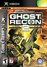 Tom Clancy's Ghost Recon 2  (Xbox, 2004) disk only**Free Shipping**
