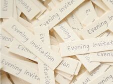 Evening Invitation Captions for DIY Make Your Own Wedding Invitations X 100