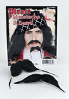 FANCY DRESS PIRATE BLACK BEARD AND MOUSTACHE WITH BEADS