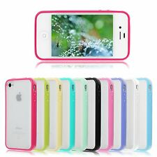 COQUE ETUI HOUSSE BUMPER SILICONE GEL CASE COVER POUR APPLE IPHONE 4/4S