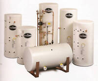 UNVENTED HOT WATER CYLINDER 500 Litre Indirect twin coil