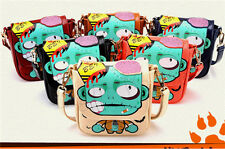 New fashion cross body  zombie pattern Hobo Tote Women leather shoulder bag 62 I