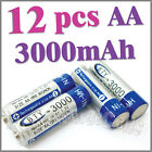 12 AA 3000mAh 1.2 V Ni-MH rechargeable battery BTY 1