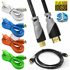Premium HDMI Cable For Bluray 3D DVD PS3 HDTV XBOX LCD HDTV 1080P 1.5m 3m 5m