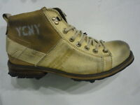 Yellow Cab Schuhe Boots Stiefel Shoes Beige