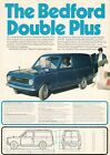Bedford HA Double Plus Van 1973 UK Market Leaflet Sales Brochure Vauxhall Viva