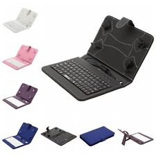 iRULU PU Leather Micro USB Keyboard Case With Buttons Stand Cover for Tablet