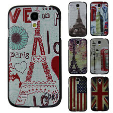 CHEAP~Flag Tower Colorful Art Paint Back Phone Case Cover for Samsung Galaxy S4