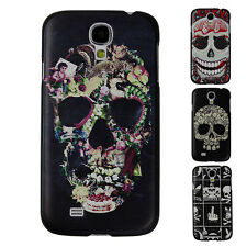 CLEARANCE CHEAP Skull Hard Protector Back Case Cover For Samsung Galaxy S4 IV 00