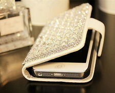 LUXURY SPARKLE CRYSTAL DIAMOND BLING PHONE CASE COVER FOR APPLE IPHONE SAMSUNG