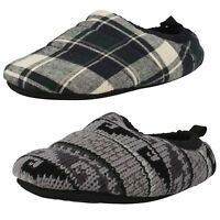 Mens Clarks Mule Slippers with Warm Lining Kite Snooze