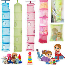 FANGST Kids Toy Storage 6 Compartments Hanging Tidy Space Saver Organiser