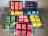 NOOPY'S (3) Clam Shells TRIPLE Scented Soy Wax Candle Melts/Tarts-130+Scents