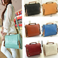 Women Crown Lady Designer Leather Handbag Messenger Shoulder Bag Satchel Tote PU