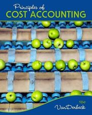 Principles of Cost Accounting by Edward J. Vanderbeck (Hardcover)