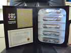 D-Day Commemorative Loco' Caboose Set & Freight Car Set By MTL