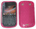 For Blackberry Bold Touch 9900 9930 Pattern Gel Case Protector Cover Pink New UK