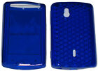 For Sony Ericsson Xperia Mini Pro SK17i SK 17i Front & Back Gel Case Cover Blue