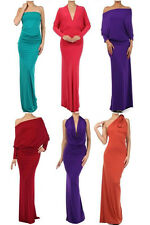 Fashion Style Women Convertible Multiway Club Jersey Party Evening Maxi Dress