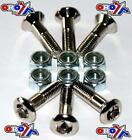NEW , SPROCKET BOLT BOLTS KIT X 6 SUZUKI RMZ 250 450 DRZ 400 MOTOCROSS ENDURO//