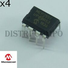 MCP2551I/P DIP-8 speed CAN Transceiver Microchip (lot de 4 ou 8)