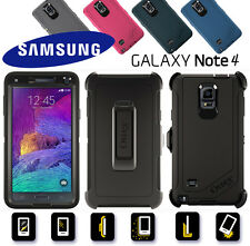Otterbox Defender Series mit Clip Hülle Case Bumper Galaxy Note 4  ARMOR ETUI
