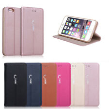 Luxury Magnetic Flip Cover Stand Wallet Leather Case For Apple iPhone 6S /6 Plus