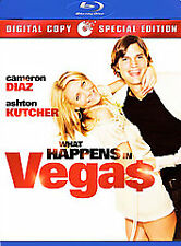 What Happens in Vegas (Blu-ray Disc, 2008, 2-Disc Set) New