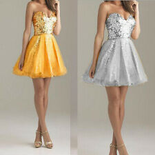 Beaded Short/Mini Cocktail Dresses Party Ball Gown Bridesmaid Evening Prom Dress