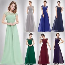Ever Pretty Elegant Ladies Bridesmaid Formal Long Gowns Evening Dress Gown 09993