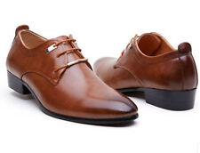 2015 NEW Men's Casual Pointed Leather Lace Up Wedding Formal Dress Shoes Oxfords