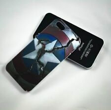 CAPTAIN AMERICA BROKEN SHELD MARVEL PHONE CASE COVER IPHONE AND SAMSUNG MODELS