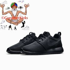 NIKE ROSHE RUN ONE TRIPLE BLACK WHITE MENS 511881-026 GPX PRINT CAMO RosheRun