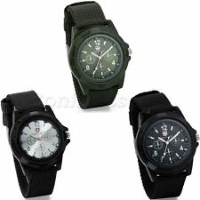 INFANTRY MILITARY Mens Outdoor Sport Army Quartz Analog Wrist Watch Nylon Band