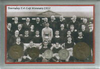Barnsley The Tykes Vintage FA Cup Final Winners Antique Coin Year Gift Set 1912