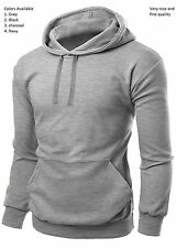 Men's Pull over Hoodie Sweat Shirt Work wear Hooded Tops lot Casual