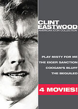 reduced! Clint Eastwood: American Icon Collection DVD 4-films BRAND NEW sealed!